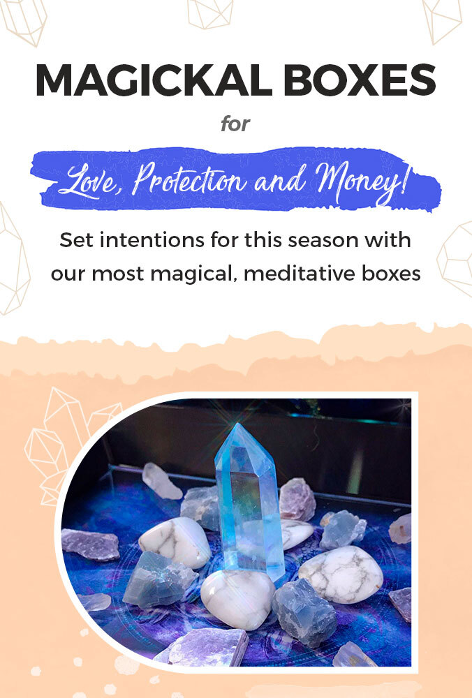 Magickal Boxes for Love, Protection and Money